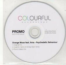 (BY787) Orange Muse ft Ania, Psychedelic Behaviour - DJ CD