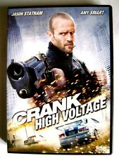 Dvd Crank - High Voltage con Jason Statham 2009 Usato