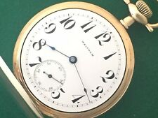 WALTHAM CIRCA 1905 AMERICAN RIVERSIDE MAXIMUS POCKET WATCH SIZE 16 MODEL 1899