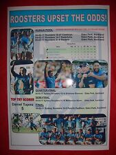 Sydney Roosters 2017 Nrl Auckland Nines winners - souvenir print