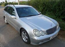 Mercedes Diesel Estate C220 CDi Avantgarde SE  Auto 2003 A/C e/seats cruise CD