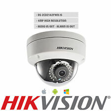Hikvision DS-2CD2142FWD-IS English Version IP Camera 4MP POE IP66 CCTV SD 4mm