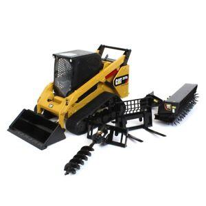 1/16 High Detail Caterpillar 297D2 Multi-Terrain Skid Loader 85603