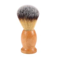 Nylon Pennello da barba in legno uomo Maniglia viso rasatura strumento L1K0