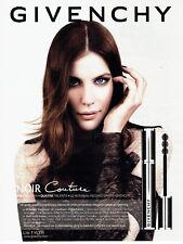 Publicité Advertising 018  2012  Givenchy  maquillage Noir Couture & Liv Tyler
