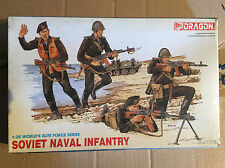 DRAGON ITALERI SOVIAL NAVAL INFANTRY 1:35 U.S. KIT DI MONTAGGIO NEW!!