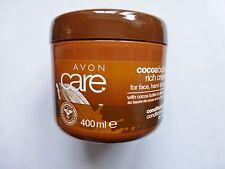 Avon Cocoa Reichhaltige Creme für Gesicht, Hände Körper mit Kakaobutter 400ml