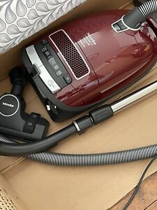 Miele Complete C3 Celebration PowerLine Red Cylinder Vacuum Cleaner