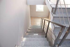Tritt- und Setzstufen Treppenstufen Granit poliert oder geflammt rutschfest 3cm