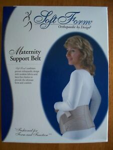 Soft Form, Maternity Support Belt, Petite, Beige, New in the Package