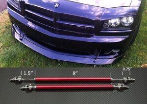 """Red 8""""-11""""  Struts Shock Rod Bar for Toyota Scion Bumper Lip Diffuser Spoiler"""