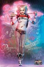 Suicide Squad- Harley Quinn Neon Glow Poster - 24x36