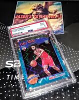 2019 Panini NBA Hoops COBY WHITE Tribute Teal Explosion **PSA 9** Chicago Bulls