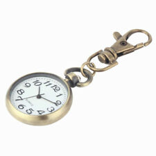 Pocket Watches Vintage Keychain Dial Key Chain Movement Pocket Watch Keyring