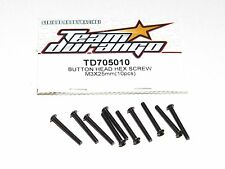 Team Durango DEX210V2 2wd buggy TD705010 Button Head Hex Screw 3x25mm (10)
