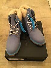 "Timberland X Just Don Mens Premium 6"" WP Boot Medium Blue Denim Size 8"
