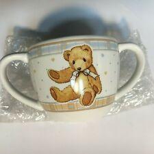 Very Rare Cherished Teddies 853542 Porcelain Baby Cup Gift Nib 4