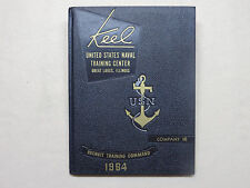 1964 US NAVAL TRAINING CENTER YEARBOOK KEEL  CO 145
