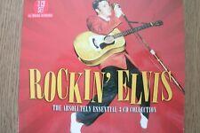 ELVIS PRESLEY - Rockin' Elvis (3xCD) . FREE UK P+P .............................