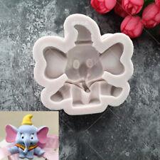 3D Elephant Silicone Fondant Mould Zoo Animal Cake Chocolate Decorating DIY Mold