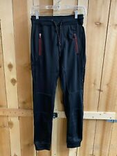 Burnside Sweatpants - Black Red Hint Large