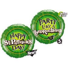 Party Supplies St Patrick's Day Party Like a Leprechaun 45cm Foil Balloon