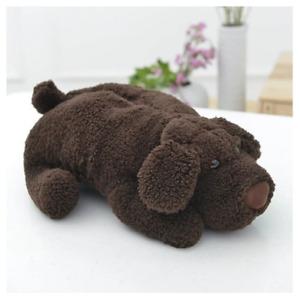 Cute Soft Plushie Puppy Dog Tissue Box Cover Napkin Holder Stuffed Fabric Decor