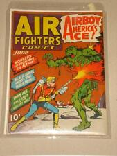AIR FIGHTERS COMICS #9 FN (6.0) HILLMAN COMIC AIRBOY