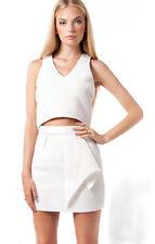 The Elliatt Prestige White Top, White Sleeveless Tops, Summer Tops, Size L