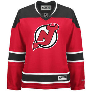 Women's New Jersey Devils Reebok Red Premier Home Jersey - small