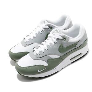 Nike Air Max 1 PRM White Spiral Sage Grey Green Mens Lifestyle Shoes DB5074-100