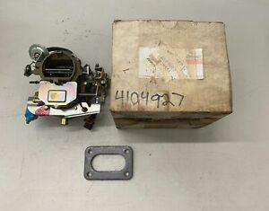 NOS Mopar Carburetor 2 BBL BBD 8171s Carter Super 6 225 Slant 6 318 360 Aspen 79
