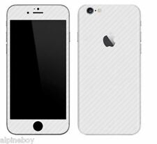 Full Body Wrap Textured Carbon Fibre Decal Sticker Skin Cover For Apple Iphones