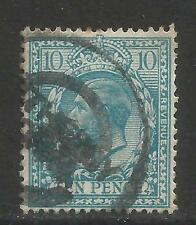 Great Britain 1912-13 King George V 10p light blue (171) used