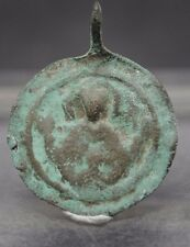 VIKING BRONZE PENDANT WITH DEPICTION OF CHRIST