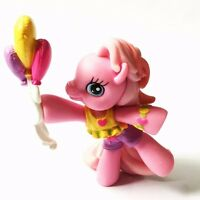 My Little Pony 2008 Pinkie Pie 2 Ponyville Pony With Balloons Figure Girls Toy
