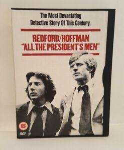 All The President's Men (1976)  DVD - Robert Redford Dustin Hoffman, UK R2 DVD