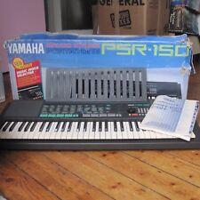 Yamaha PSR-150 Electronic Keyboard Large 61 Key Original Box Tested Free UK P+P