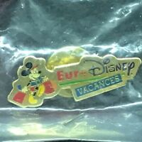 Disney Eurodisney Vacances Pin