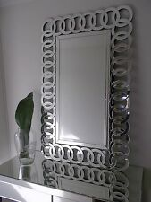 Olympia Decorative Modern Bevelled Mirror
