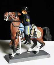 US 7TH REGIMENT USA Post Civil War 1876 Mounted 54mm Toy Soldier Hand Painted