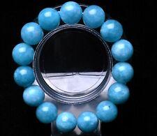 Rough Bracelet Beads Healing 14mm Natural Blue Aquamarine Crystal