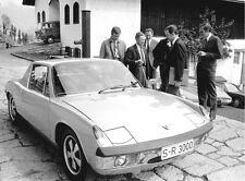 Porsche 914 1969 press campaign photo automobile car photograph
