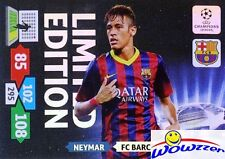 (10) 2013/14 Panini Adrenalyn Champions League EXCLUSIVE Neymar Limited Edition