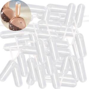 4ml Plastic Cupcake Pipettes Liquid Dropper Clear Mini Decoration Lab Transfer