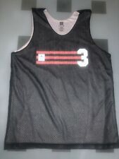Adidas Black White Medium Mesh Activewear Tank Nwot