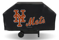 MLB New York Mets Economy Barbeque BBQ Grill Cover