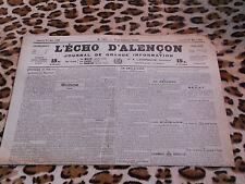 Journal - L'Echo d'Alençon n° 1455, 27/05/1922