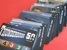 50 YEARS THUNDERBIRDS - FULL TRADING CARD SET - UNSTOPPABLE CARDS (NR05)