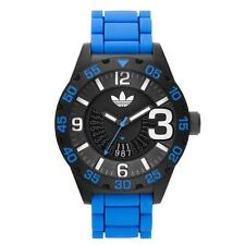 Men's Plastic Case Silicone/Rubber Band Casual Wristwatches